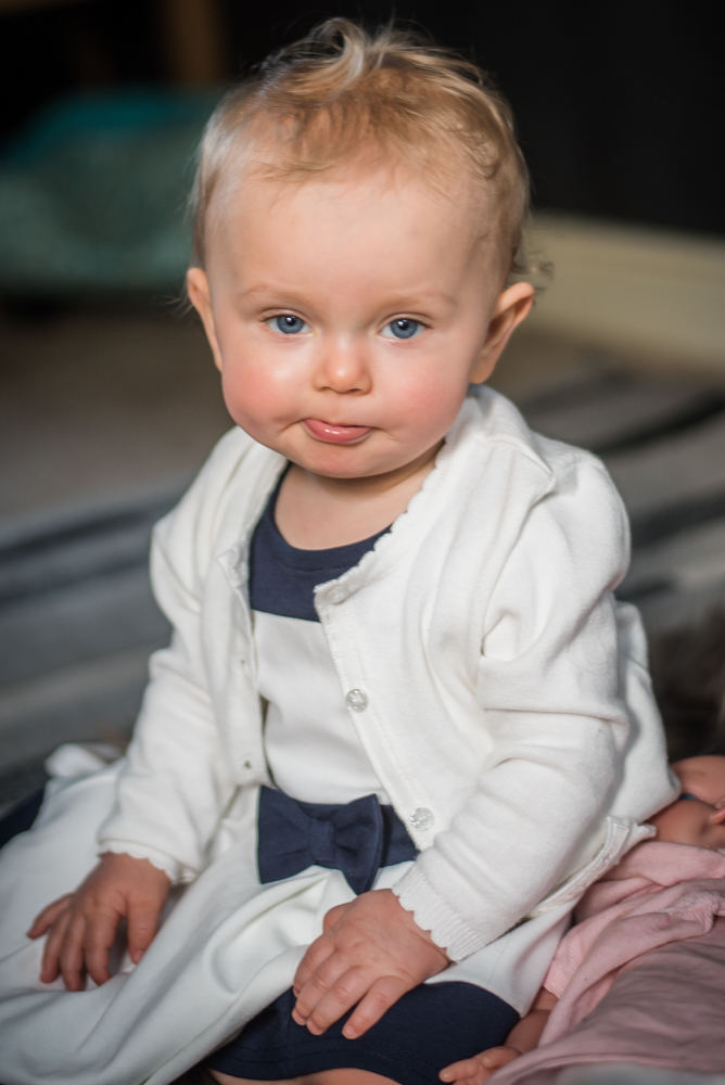 Cheeky tongue, newborn photographer Workington