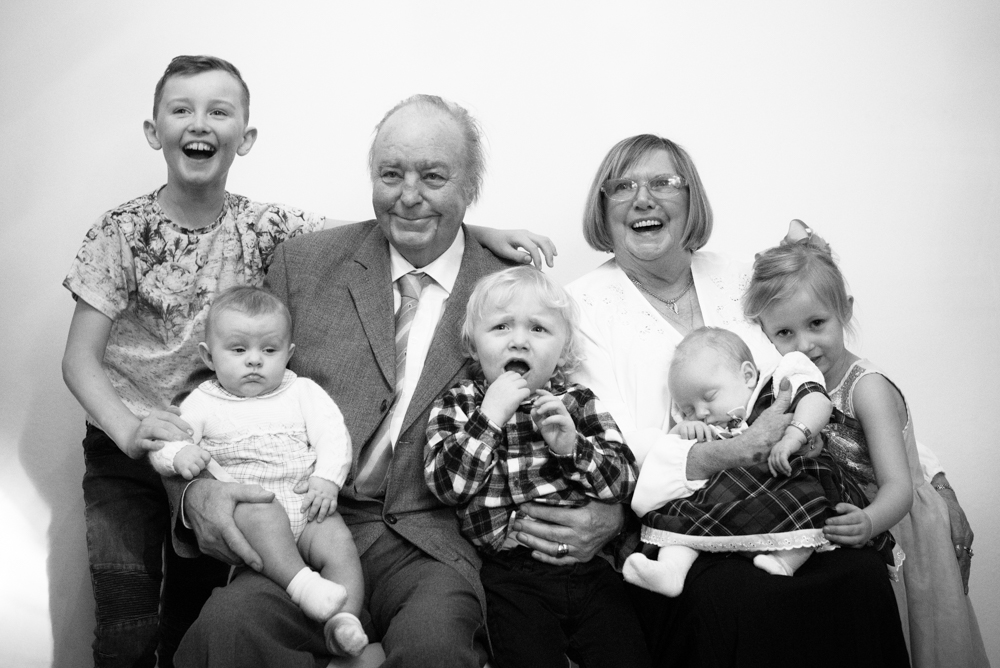 Black and white family photographs, Maryport