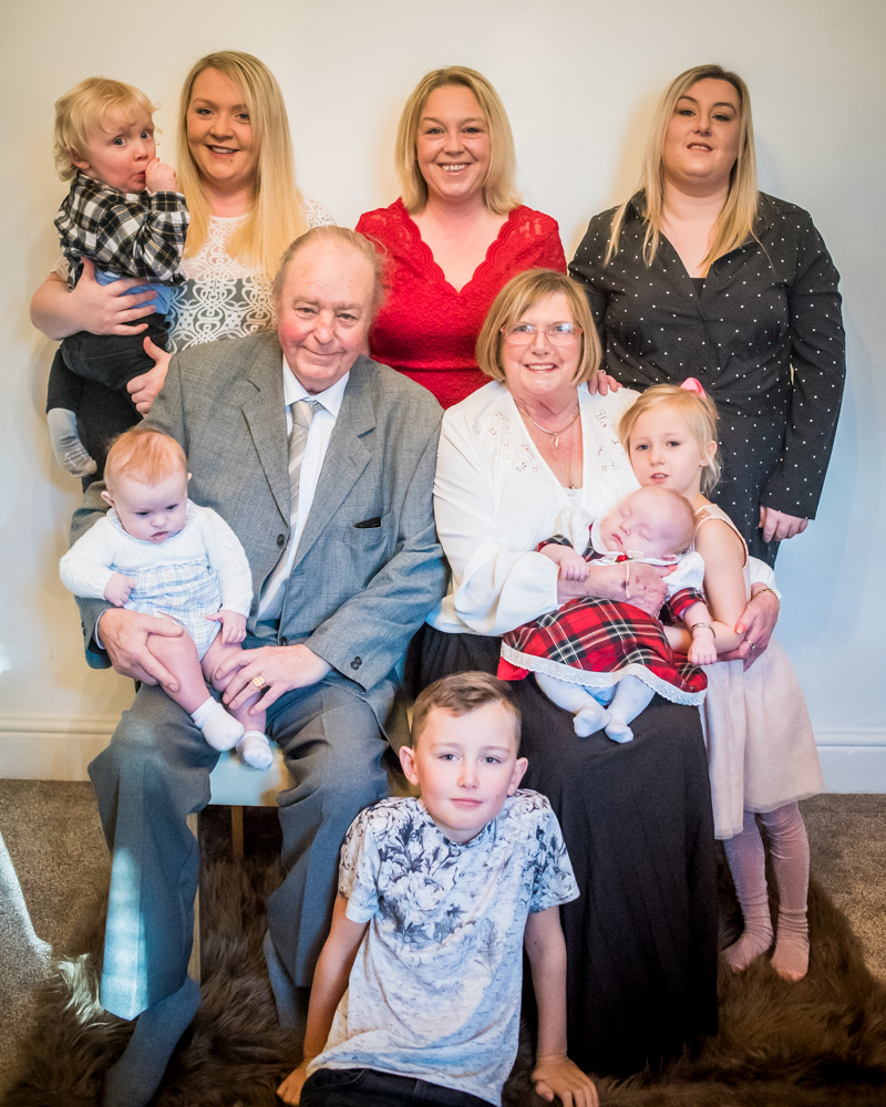 All family together, Maryport family photos