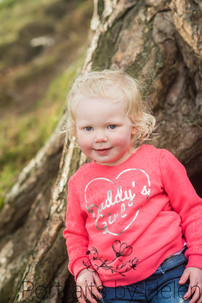Smiling Darcy, Lake District baby photographers