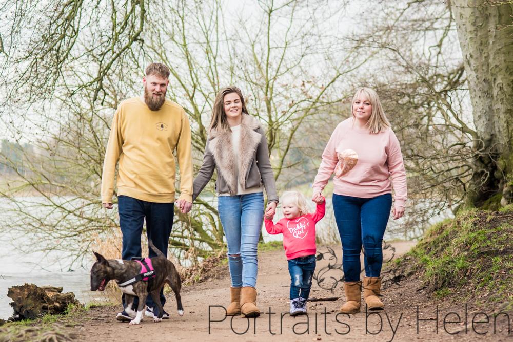 Family walk, Cumbria family photographers