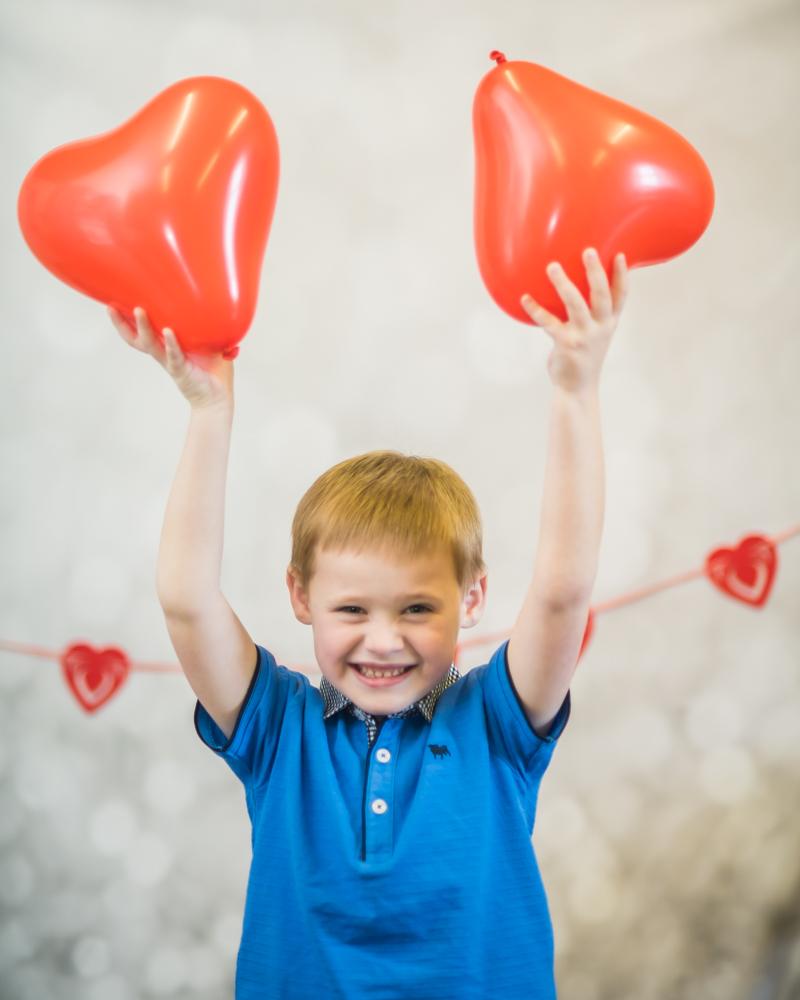 Balloons, Valentines mini, Carlisle baby photographer