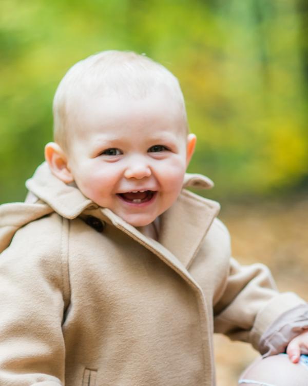 Smiling Phoebe, Carlisle newborn photographers