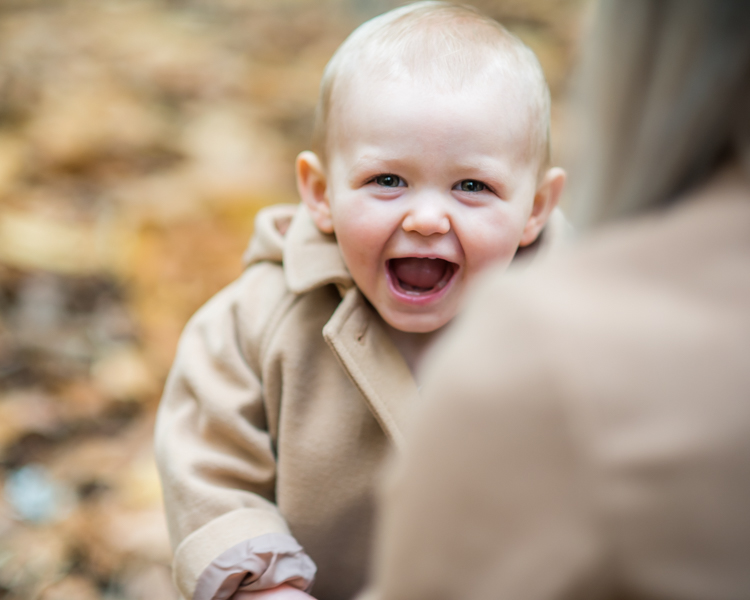 Cheeky smiles for Mum, Autumn portraits Lake District