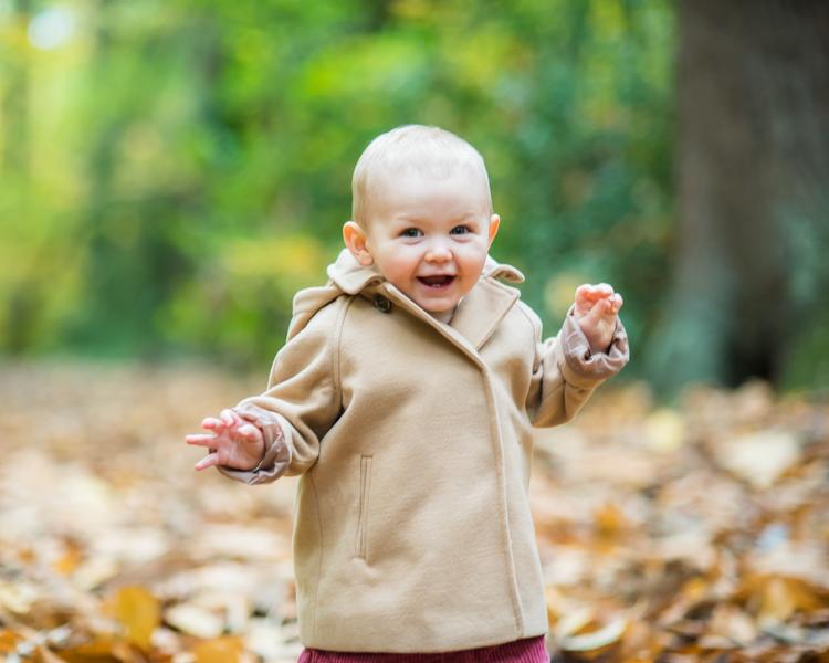 Walking, baby photographer Cumbria