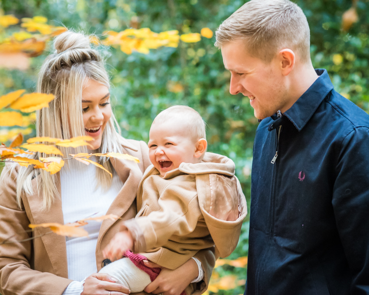 Laughing family photographers, Cumbria portraits