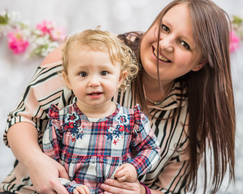 Demi and Mum, Wigton baby photographer