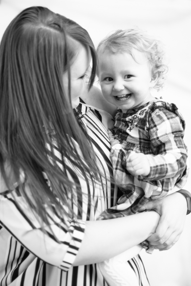 Laughing for camera, Workington baby photographers