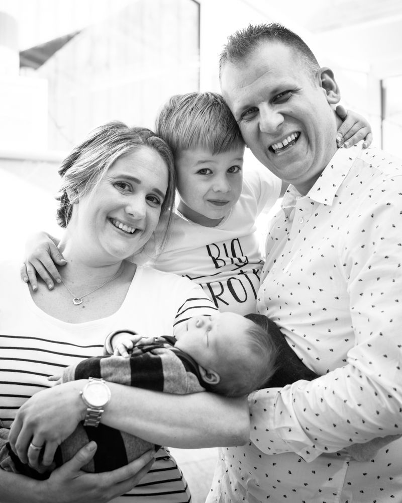 Snuggles as family, baby portraits Cockermouth