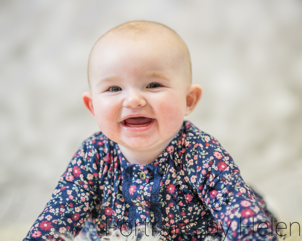 Laughing Skye, Wigton baby photographer