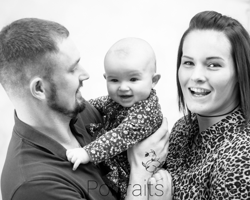 Family cuddles, baby photographer Maryport