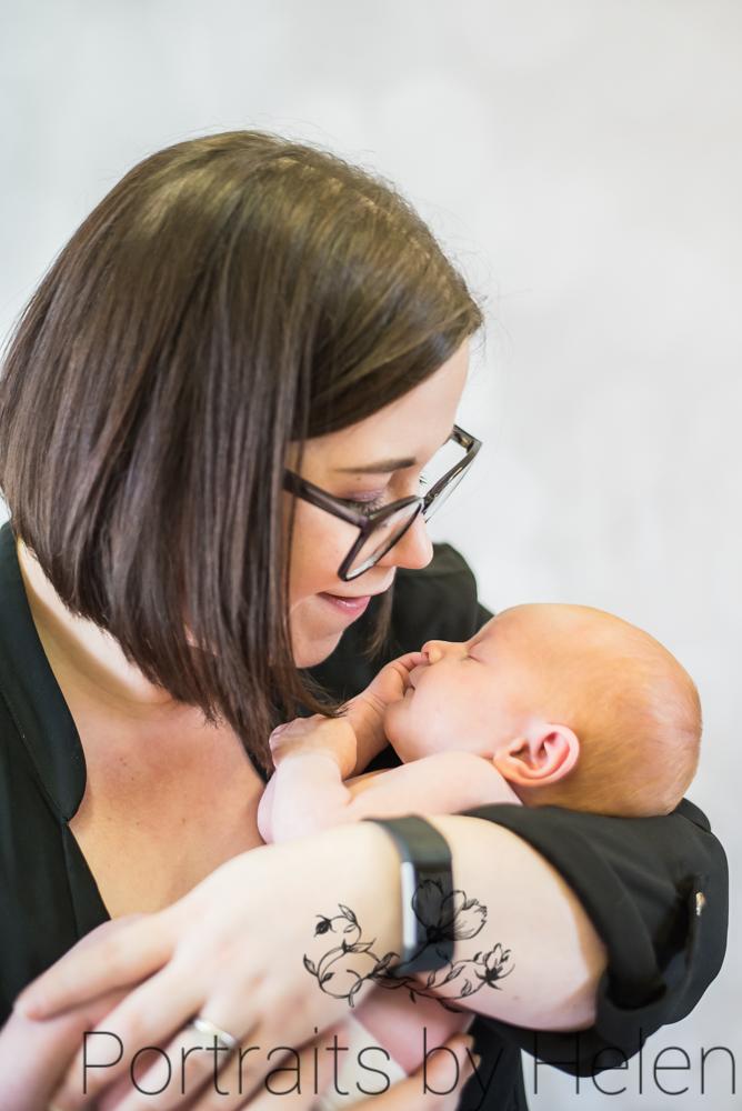 Mum and baby, newborn photographer Cockermouth