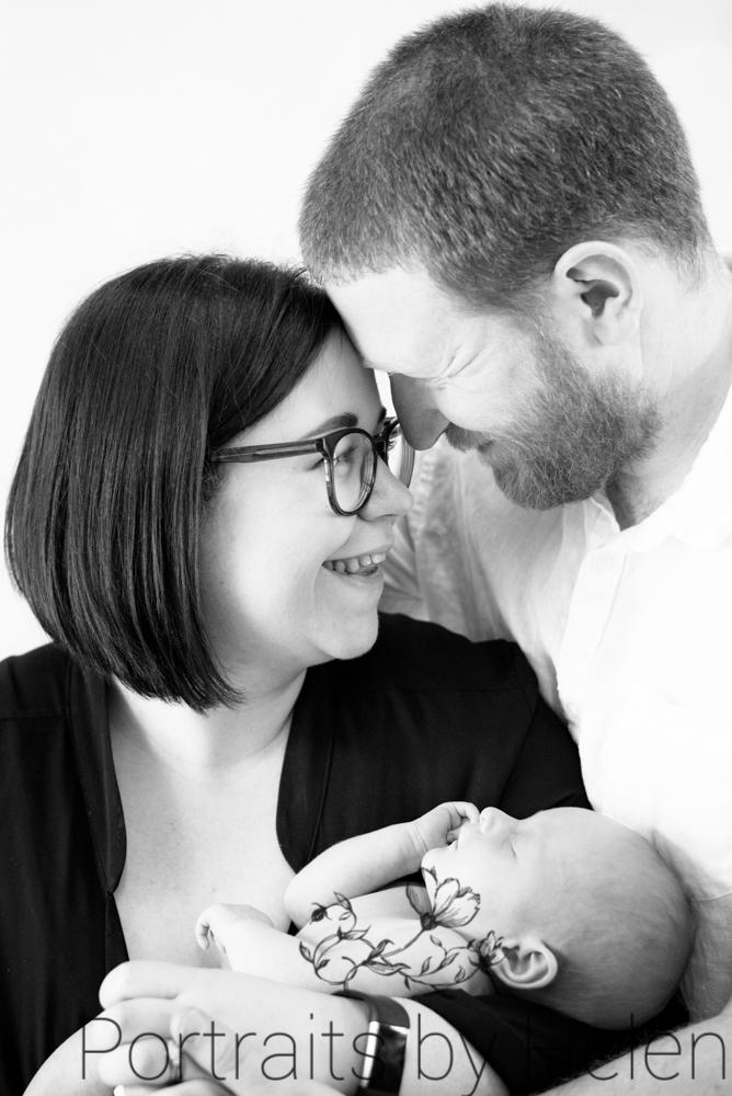 Family laughing, newborn photographers Carlisle