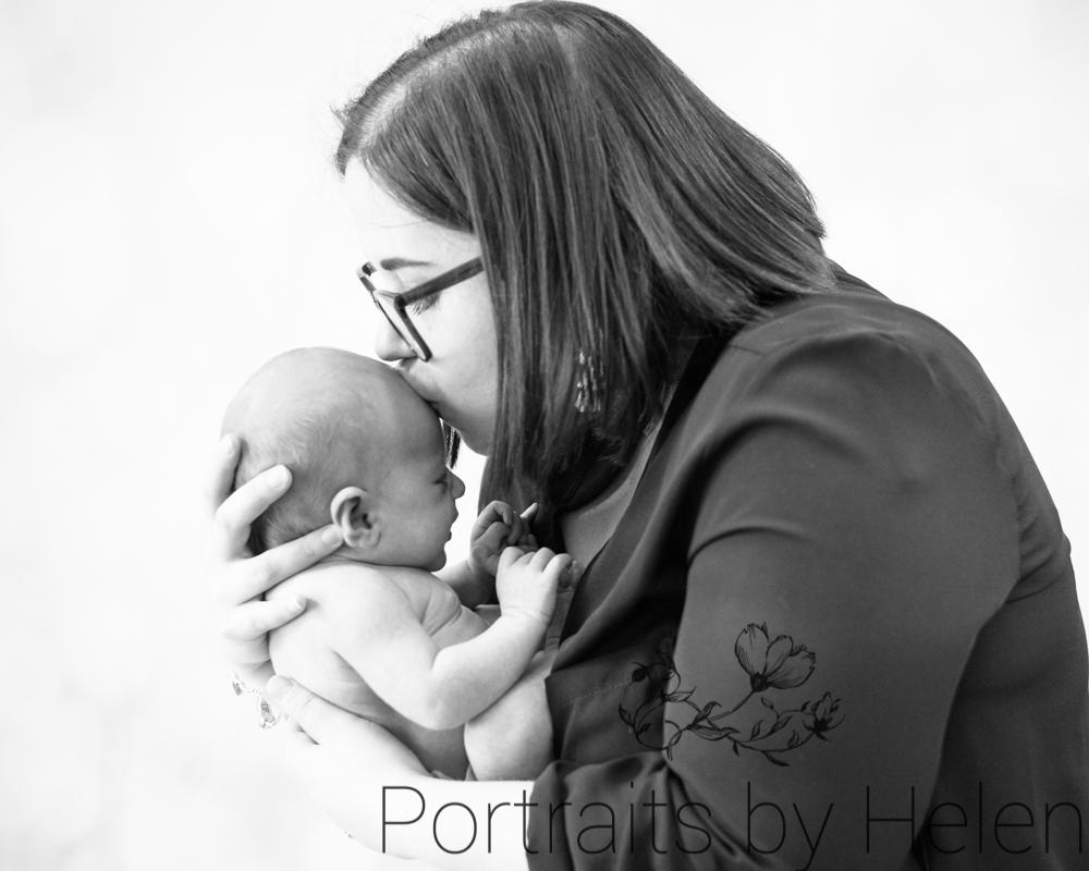 studio newborn portraits Carlisle
