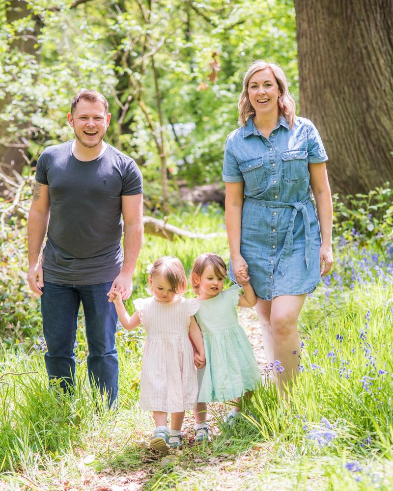 Family walking, Lake District photographers