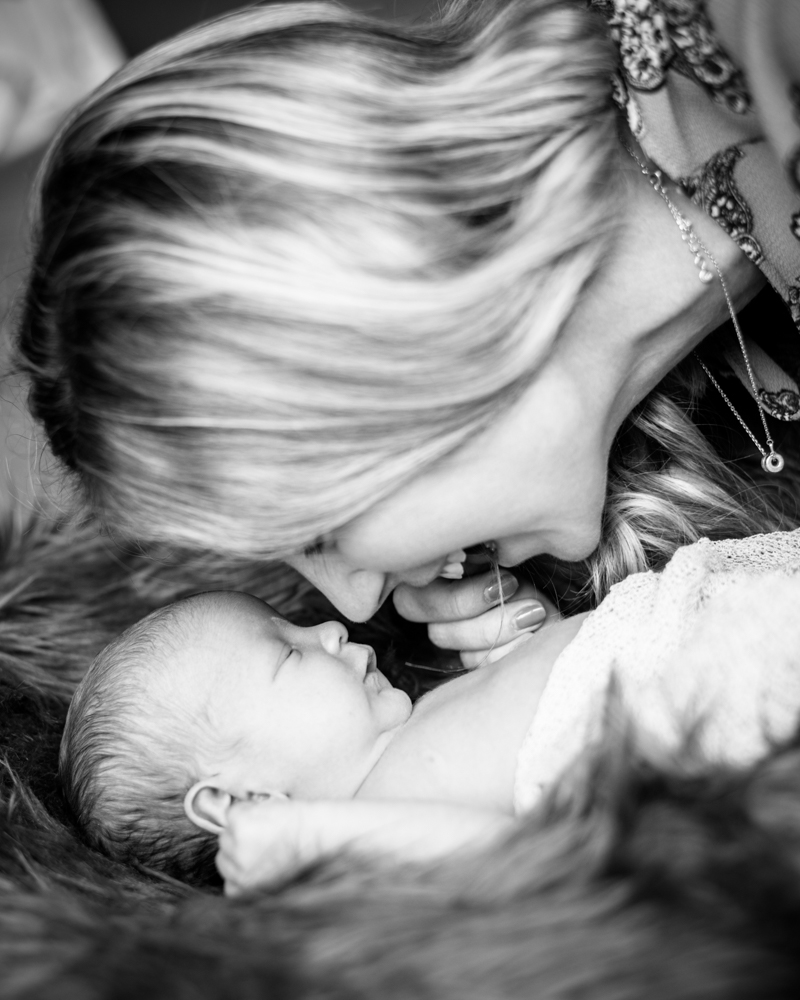 Laughing Mum and baby, newborn photographer Carlisle