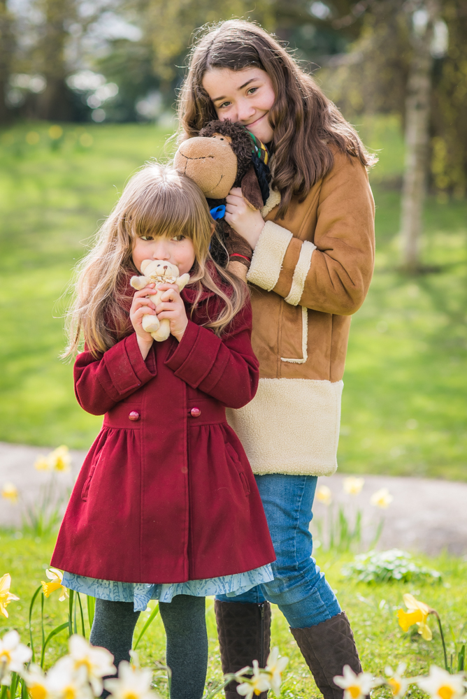 Cuddles with teddies, Sheffield photographers