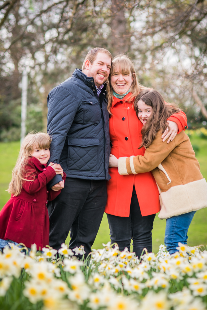 Family cuddles, family photographers in sheffield