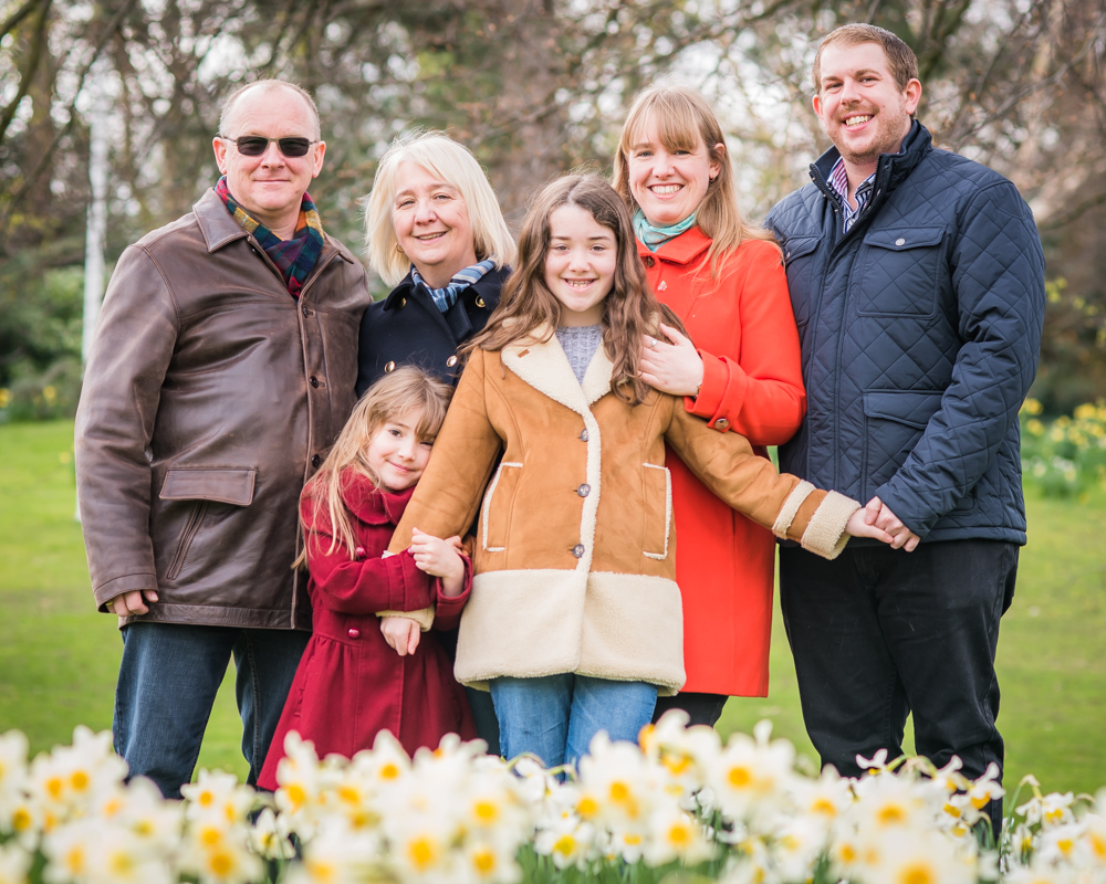Extended family photography, Lake District