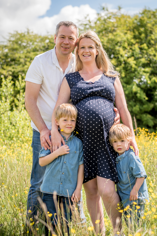 Family squeeze, Carlisle photographers