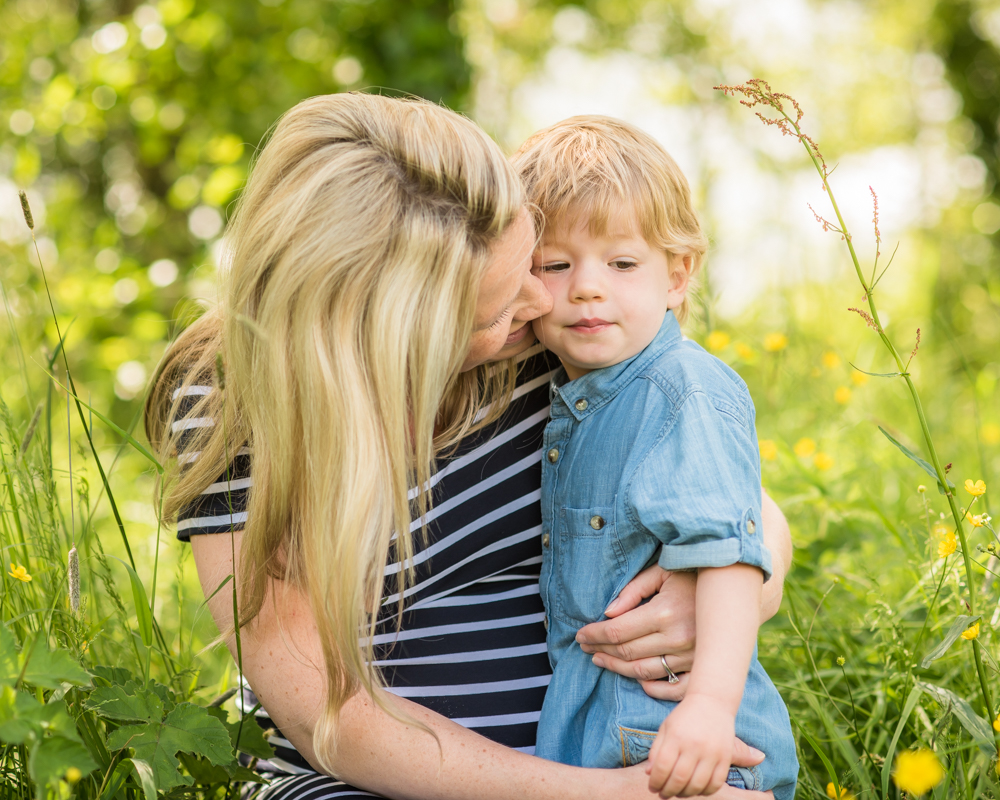 Abbie and her son, maternity portraits Wigton