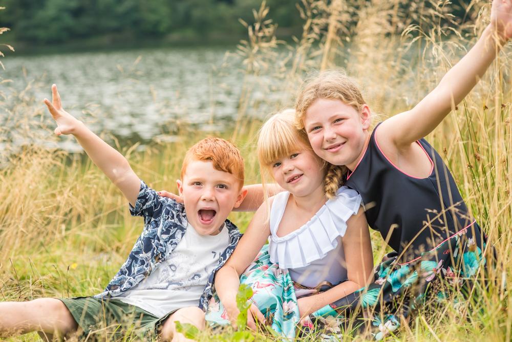 Friends posing for photos, kids photographer Aspatria