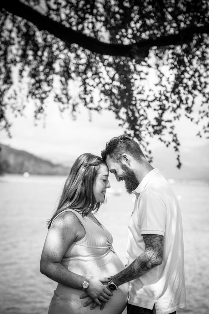 Heads touching, maternity photographers Carlisle