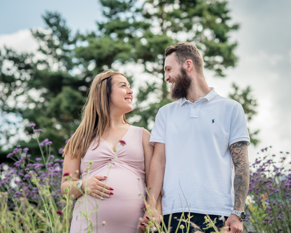 Lifestyle maternity portraits in  Bowness, Lake district