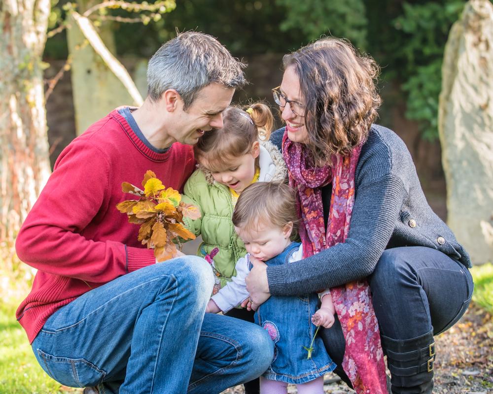 Family snuggle, Bassenthwaite portraits