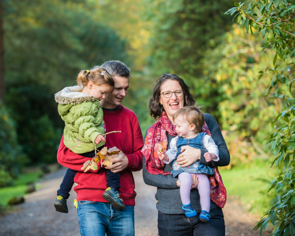 Laughing family, baby photos Carlisle