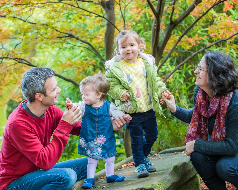 Family fun, Autumn portraits Lake District