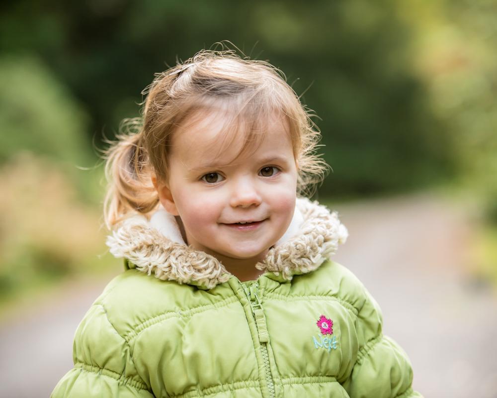 Jessie smiling, Carlisle baby photographers