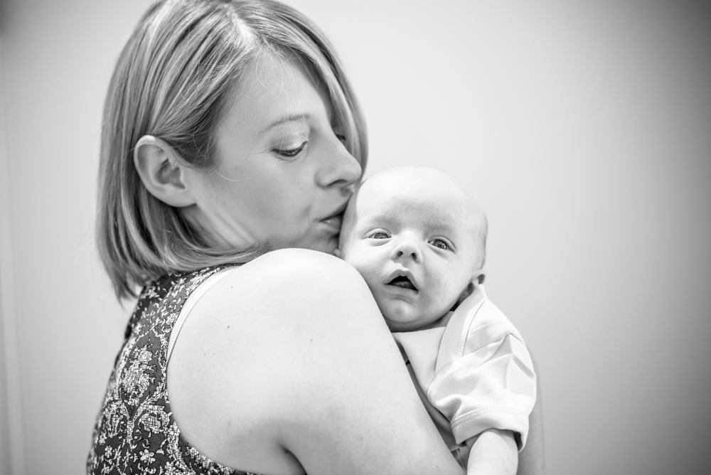 Cuddles with Mum, Sheffield baby portraits
