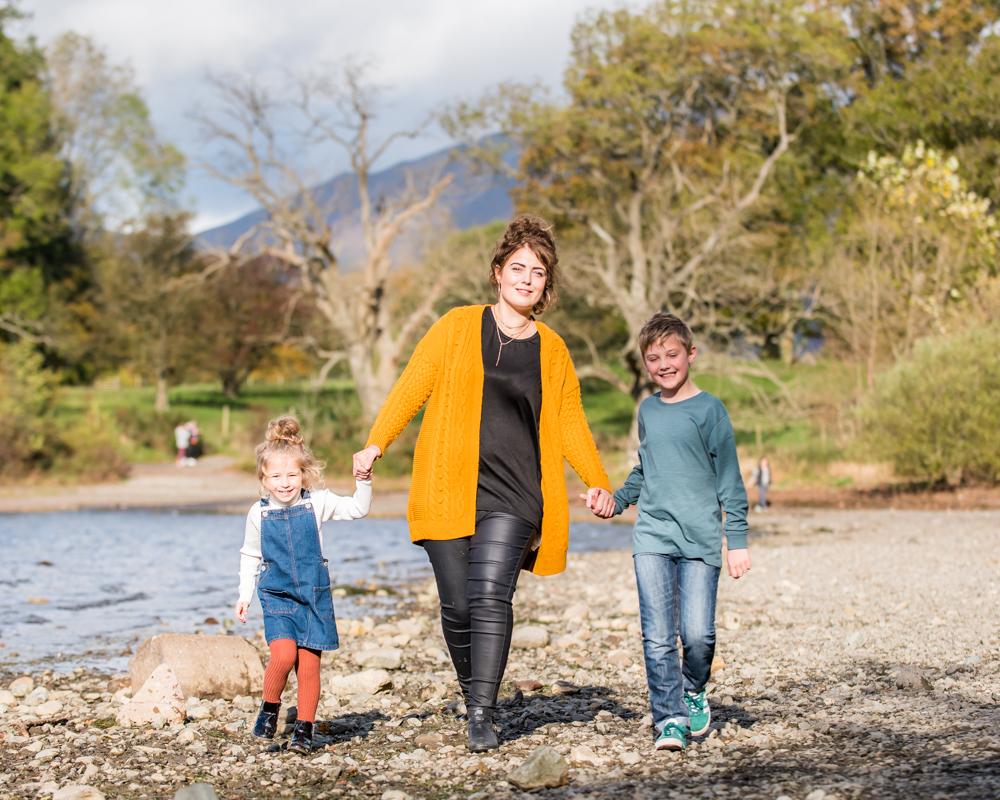 Family walk, Lake District family photographers