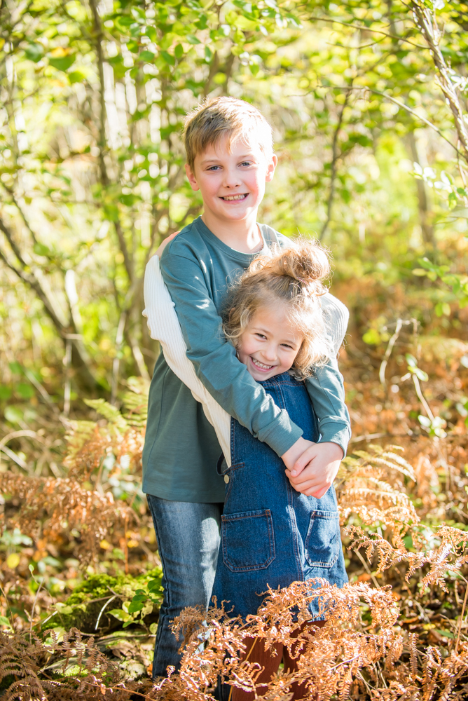 Sister cuddles, Carlisle baby photographers