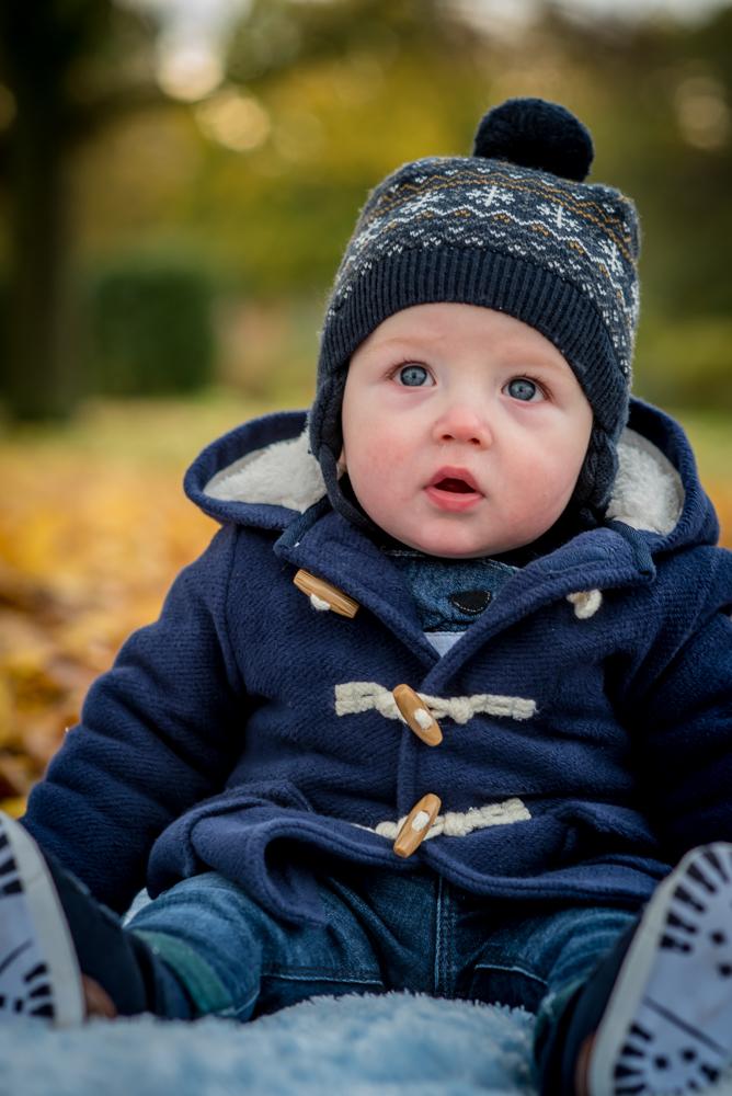Blue eyed baby, newborn photographer Cockermouth