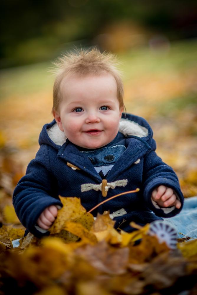 Smiley baby, baby portraits Cumbria