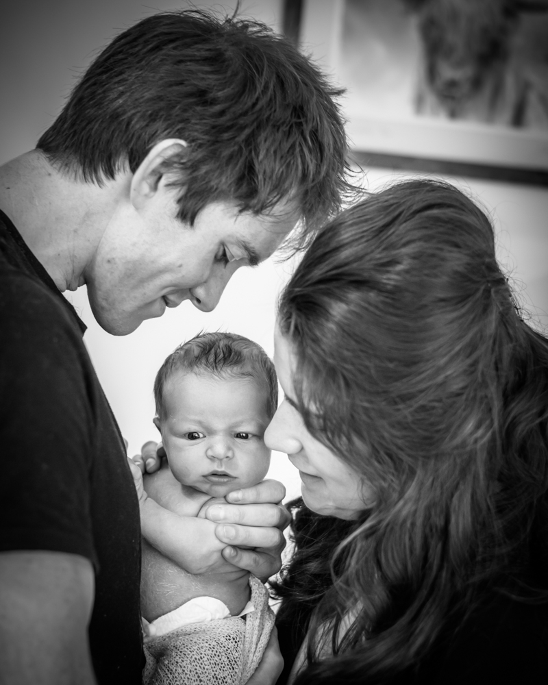 Family together, newborn photographers Cockermouth