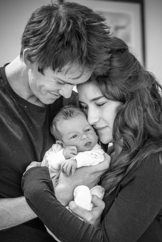 Family cuddle, Keswick baby photographers