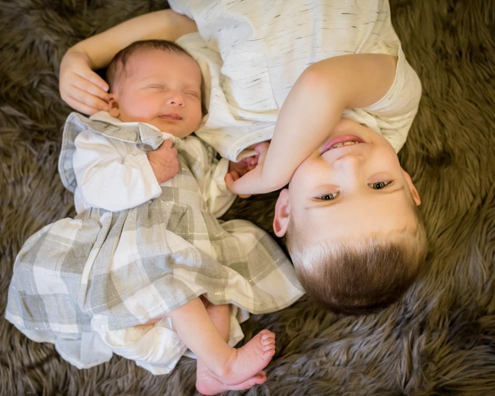 sibling cuddles, baby photographers Carlisle
