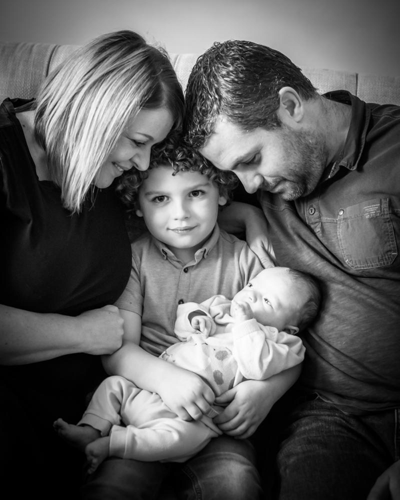 Family cuddles, newborn photographer Carlisle
